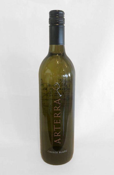Arterra Chenin Blanc wine bottle