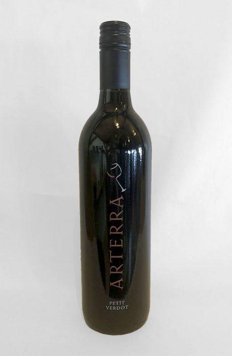 Arterra Petit Verdot wine bottle