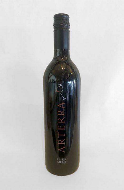 Arterra Petite Sirah wine bottle